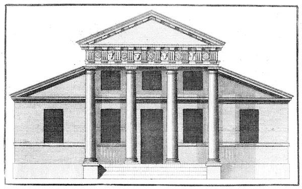 Palladian architecture wikipedia for Palladian style house plans