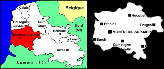Arrondissement de montreuil wikip dia - Office du tourisme de montreuil sur mer ...
