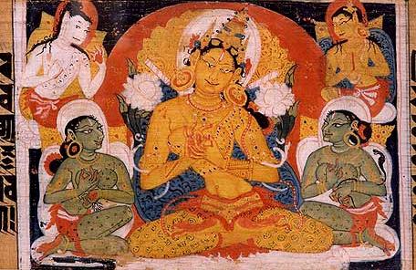 File:Astasahasrika Prajnaparamita Image of Prajnaparamita.jpeg