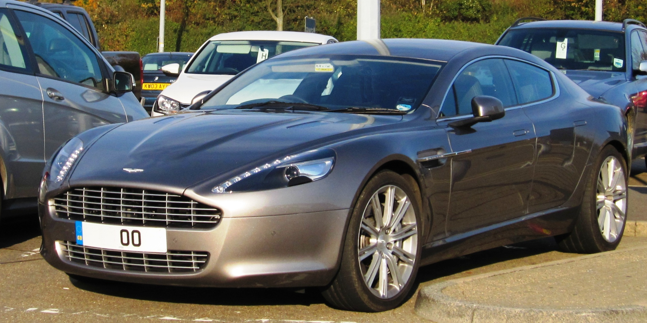 Aston 2011 martin rapide