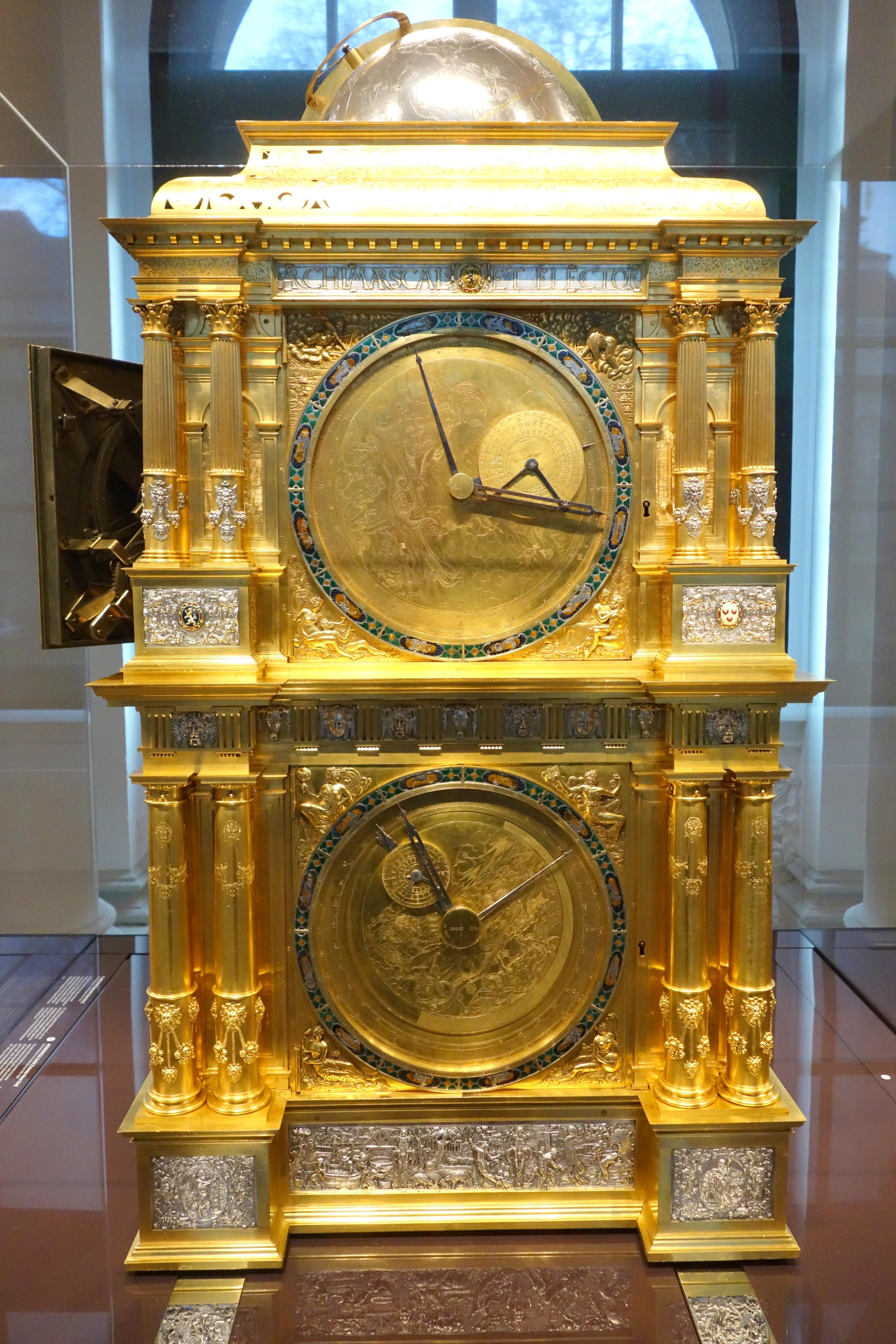 file astronomical clock venus mercury side eberhard. Black Bedroom Furniture Sets. Home Design Ideas