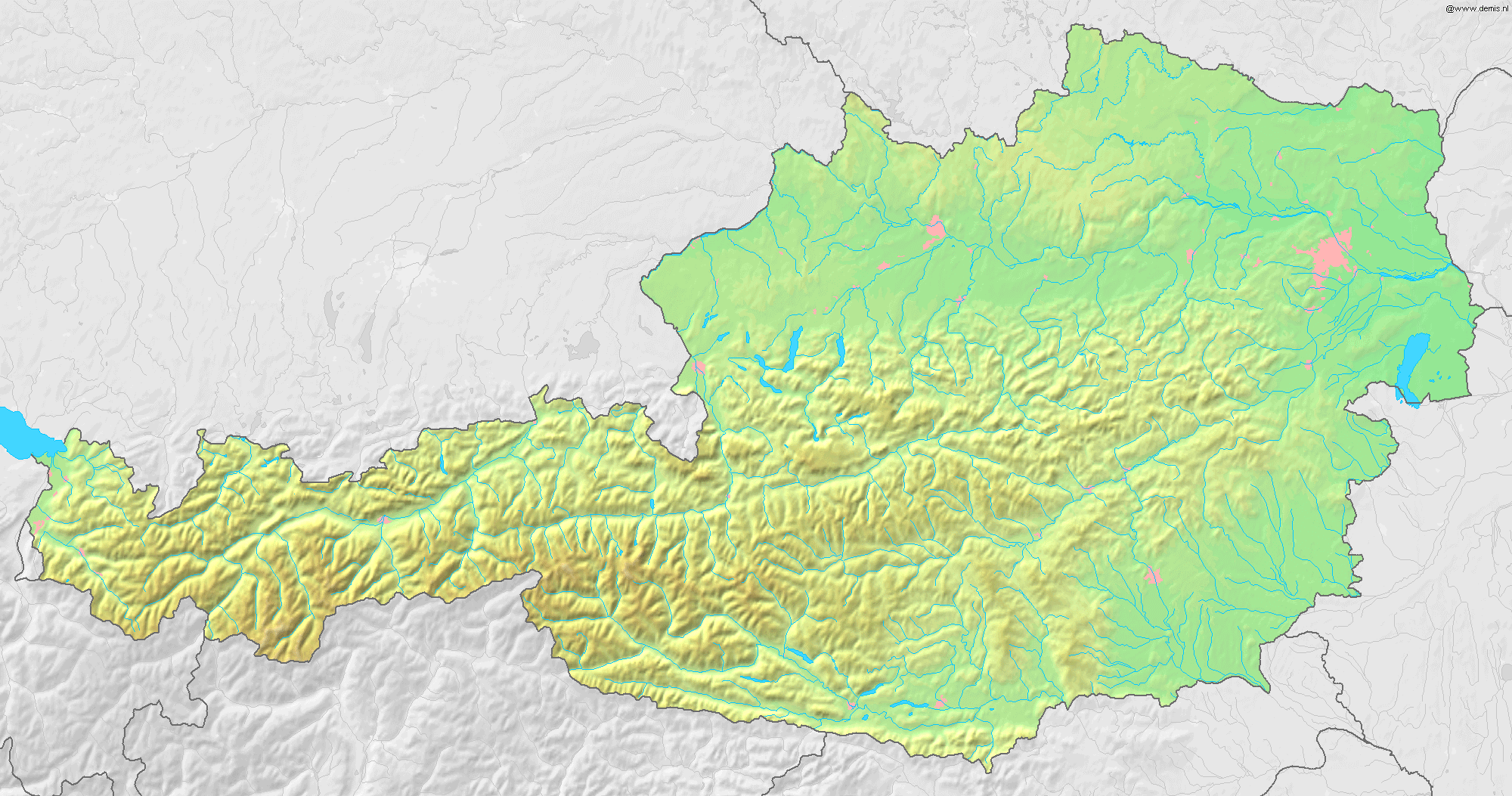 File Austria Topographic Map Png Wikimedia Commons