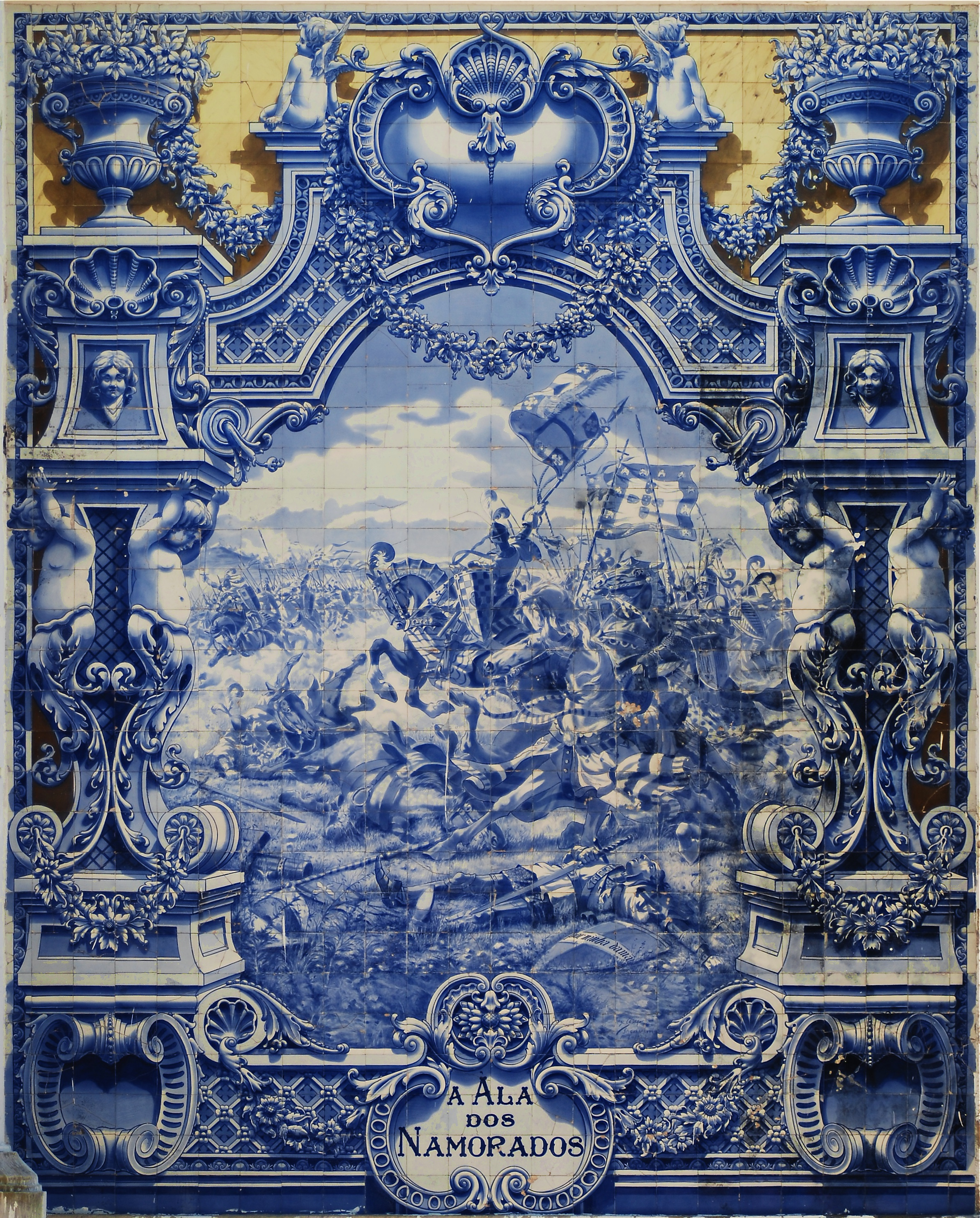 File azulejos parque eduardo vii wikipedia for Define mural painting