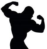 English: Bodybuilder