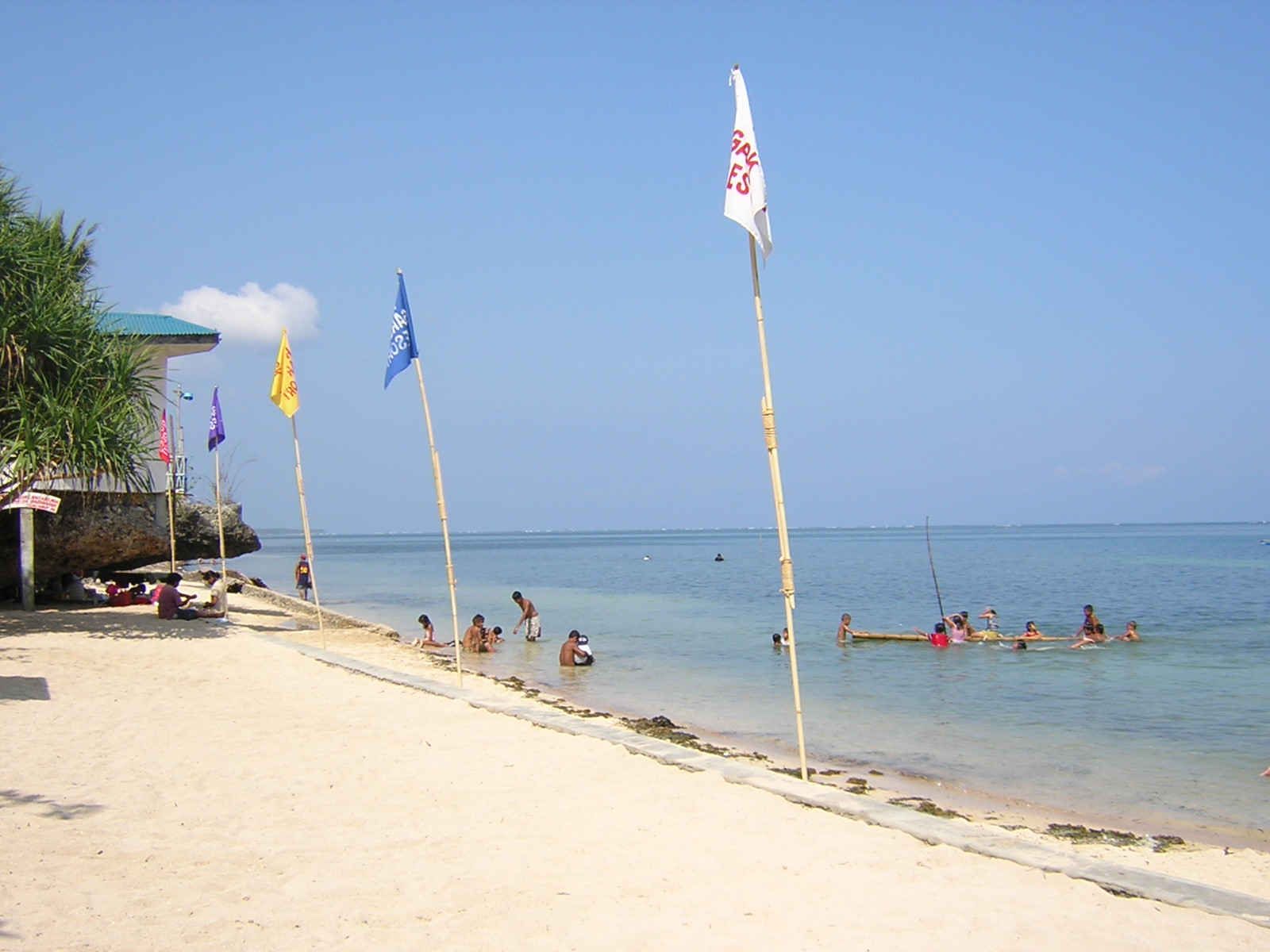 Bolinao Philippines  city pictures gallery : Beach at Rock Garden Resort, Bolinao, Pangasinan Wikimedia ...