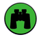 Binoculars green icon.png