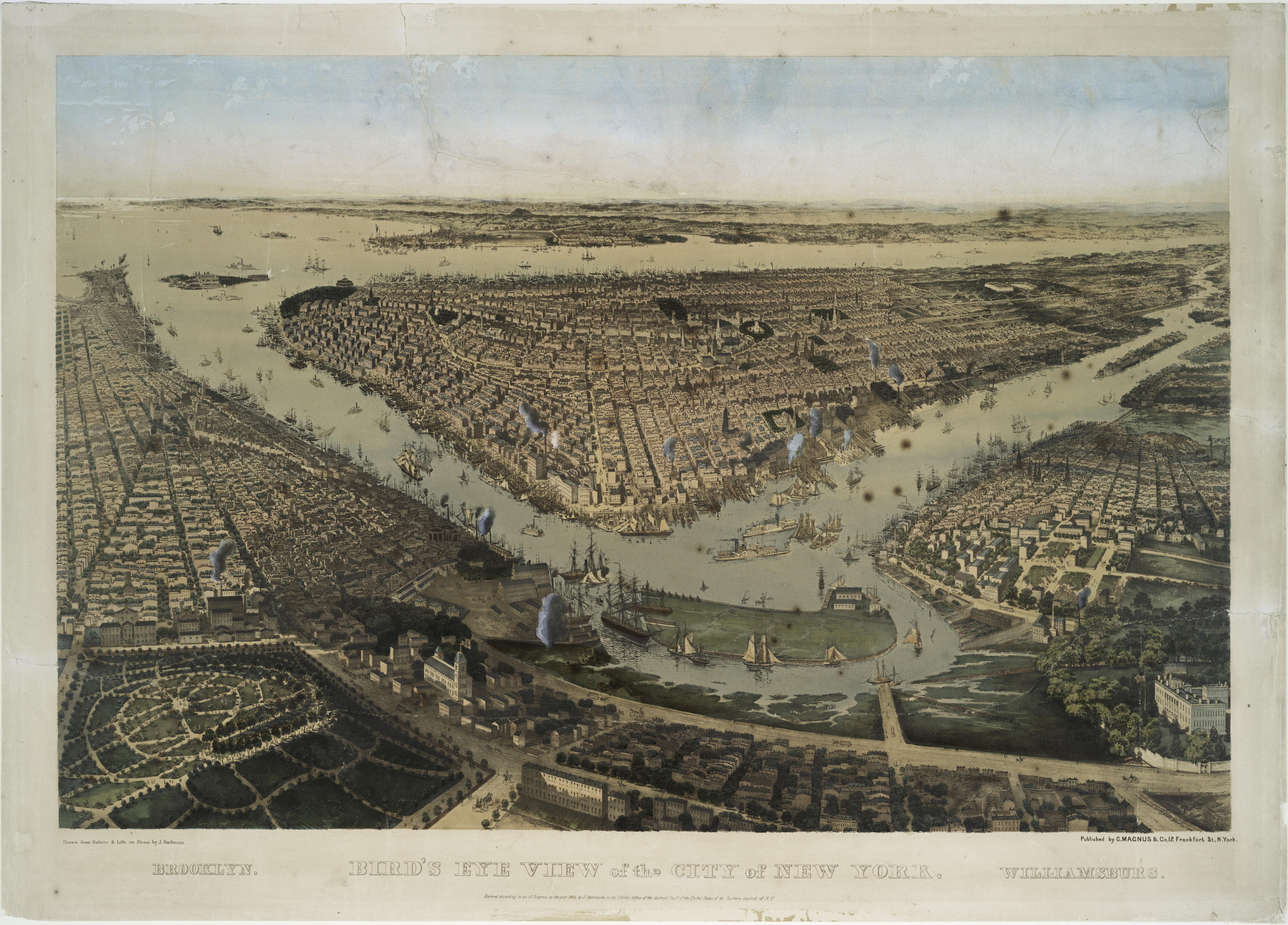 New York City History – Peace and Prosperity (1815 – 1825 ...