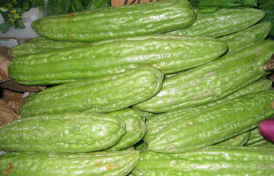 Bitter Melon or Ampalaya is Filipino Vegetable