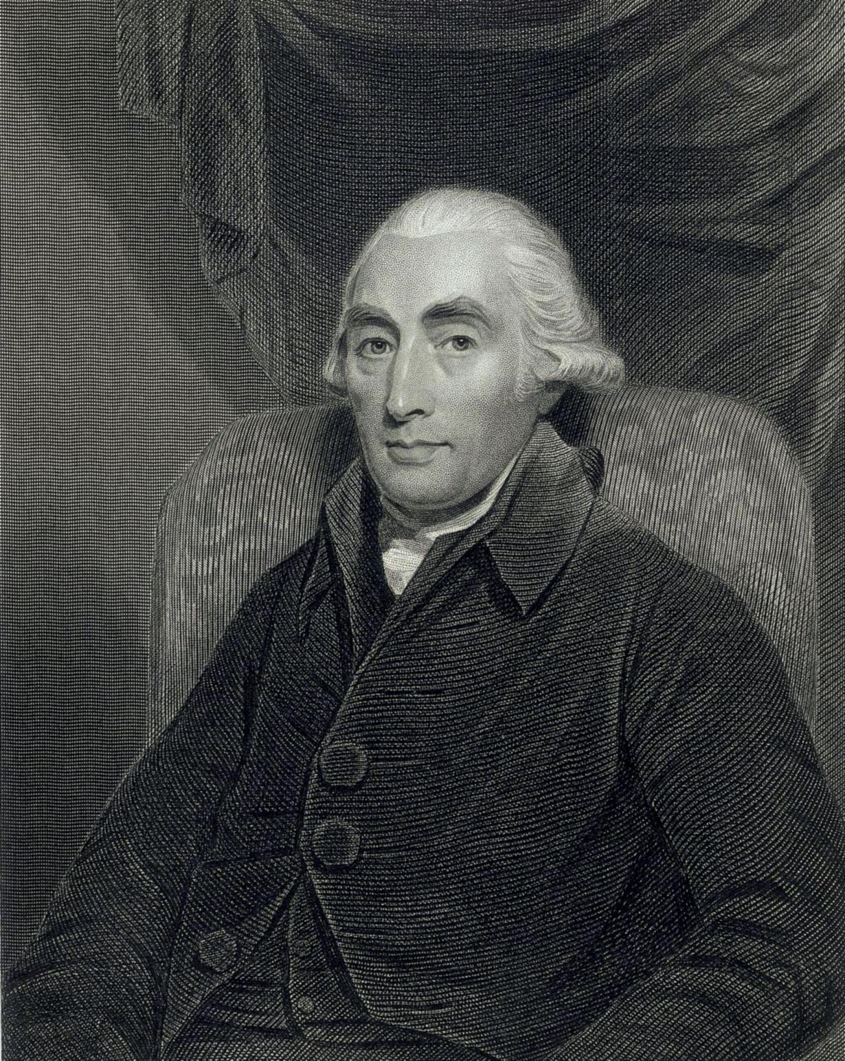 Depiction of Joseph Black
