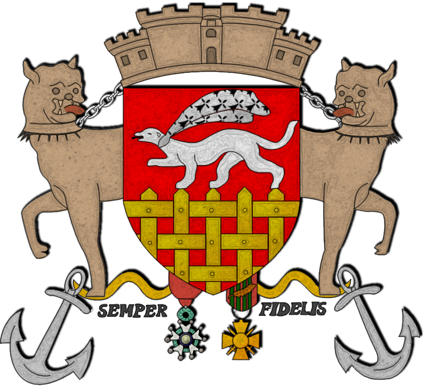 Armoiries modernes de Saint-Malo.