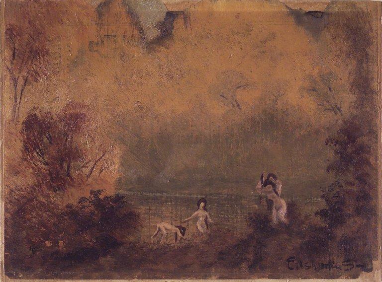 Brooklyn Museum - Bathers - Louis Michel Eilshemius - overall.jpg