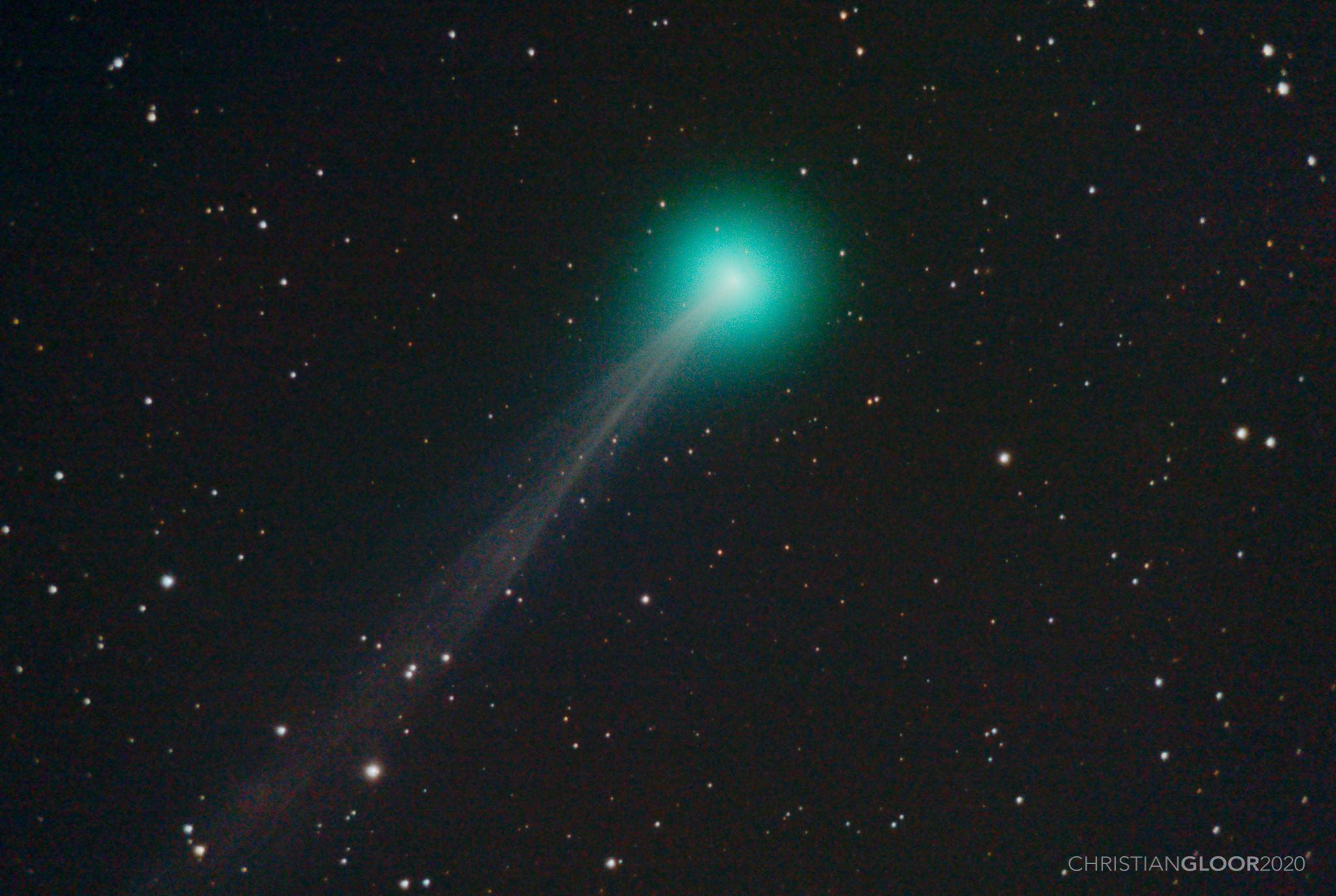 SWAN Kuyruklu Yıldızı Çıplak Gözle Görülebilir…