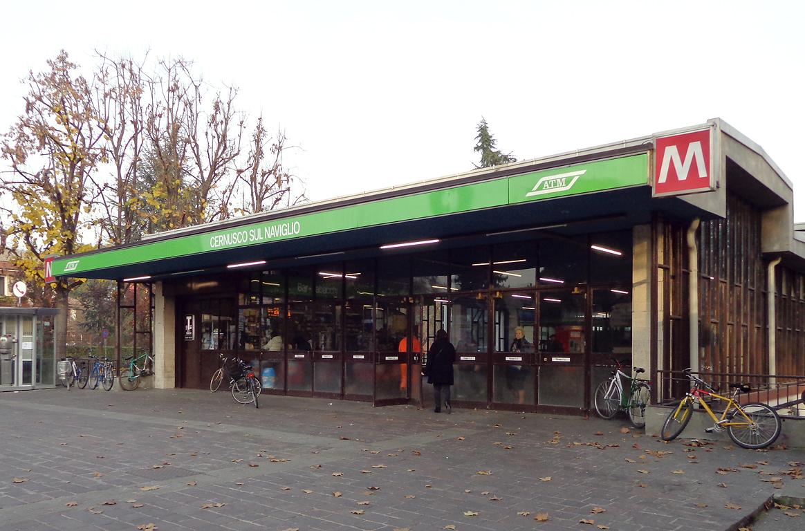 Cernusco sul Naviglio (metropolitana di Milano)   Wikipedia