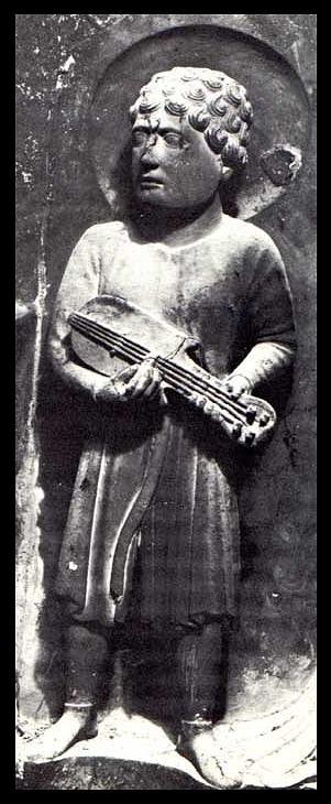 Citole, rosette (ca. 1180) by Benedetto Antelami, Parma.jpg