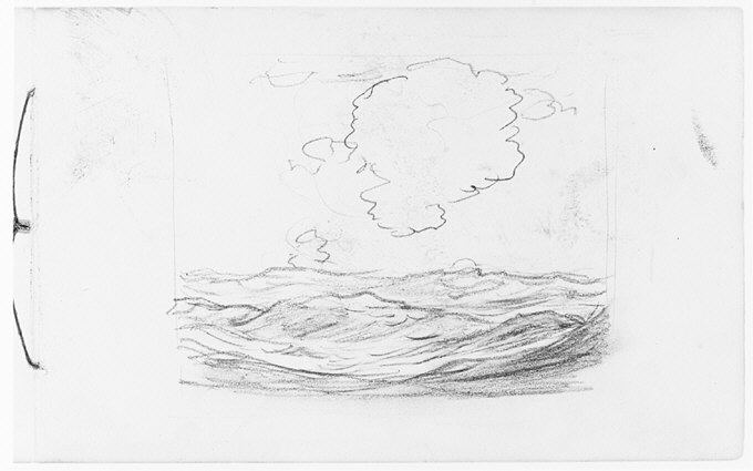 File:Clouds over Water (Long Island Sound?) (from Sketchbook) MET 263380.jpg