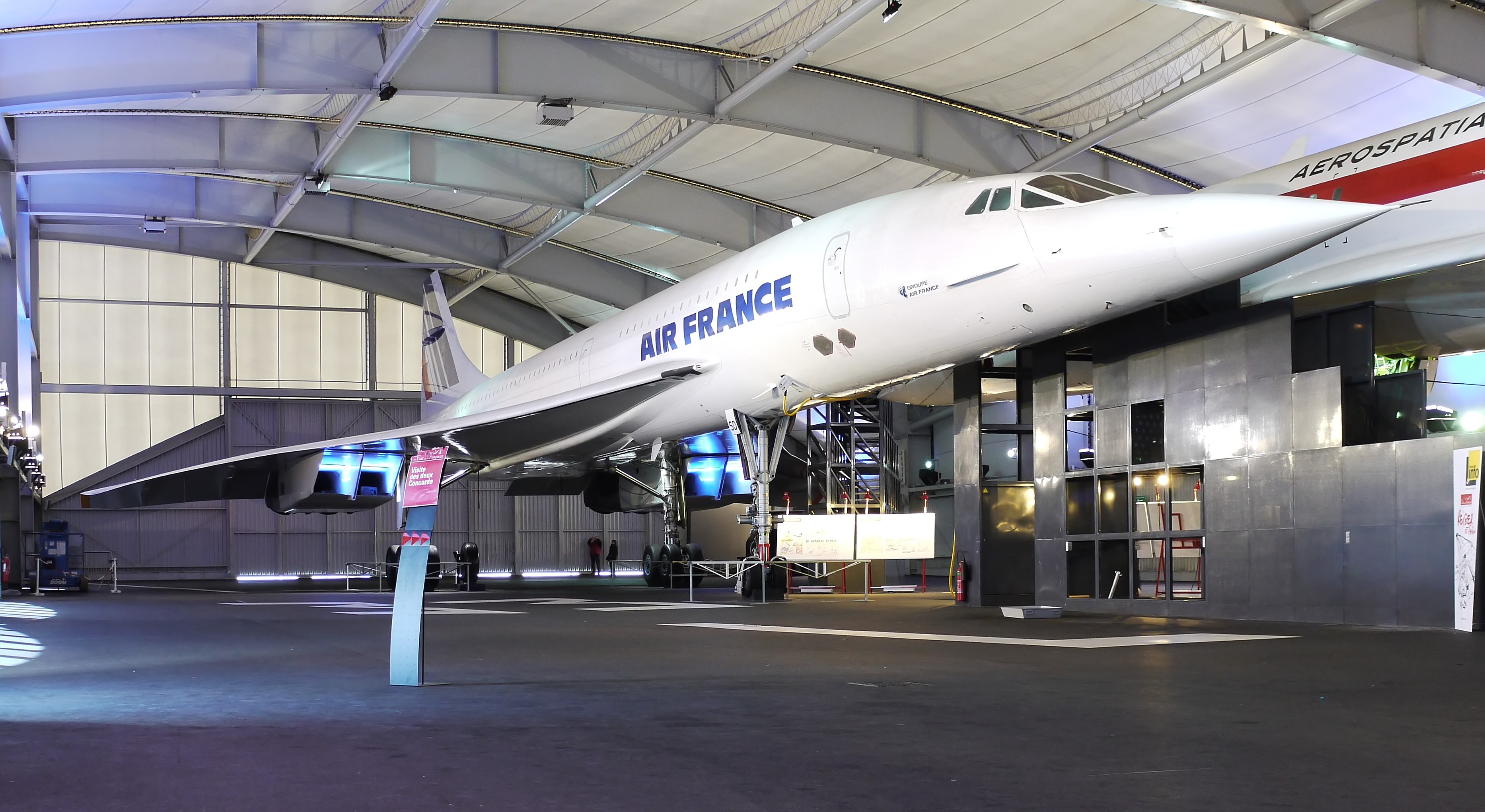 Le Bourget France  city photos : Concorde Air France Musee du Bourget P1020006 Wikimedia ...