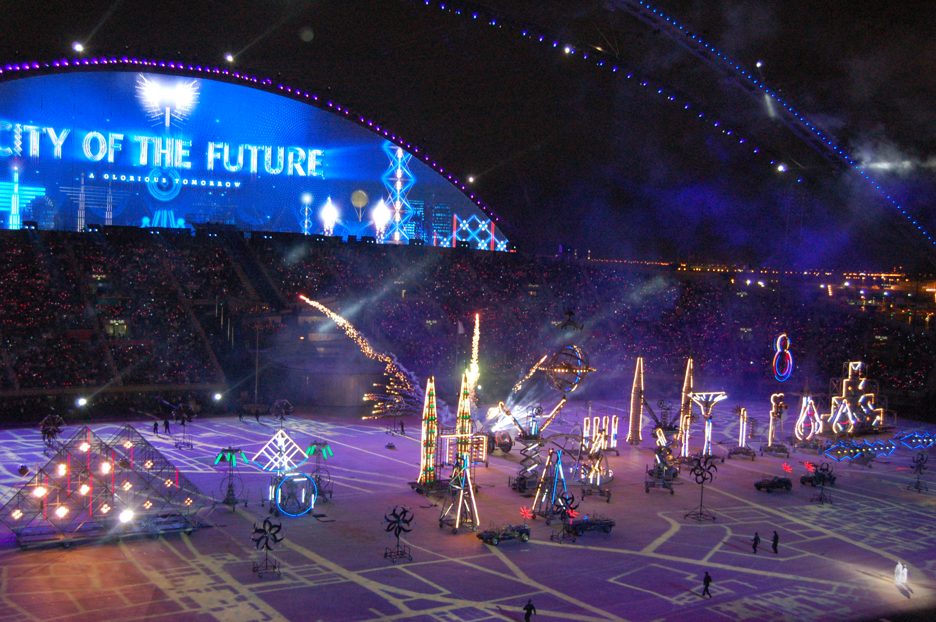 Doha asian games opening ceremonies