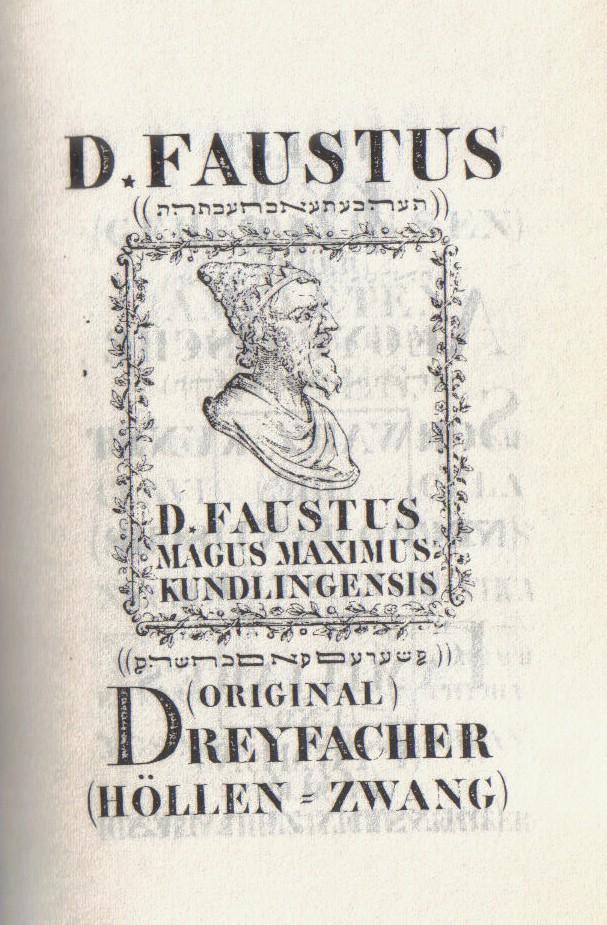 Faustbuch online dating