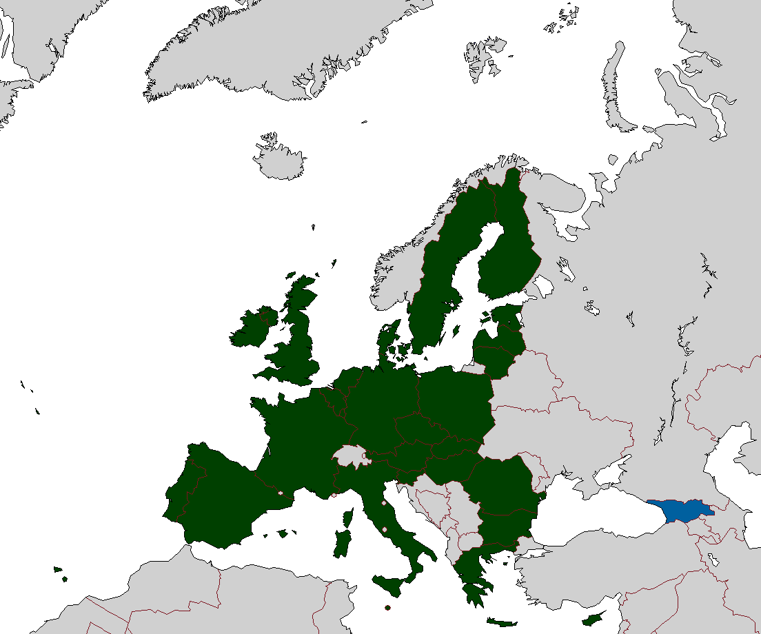 Map Of Georgia Eu.File Eu And Georgia Png Wikimedia Commons