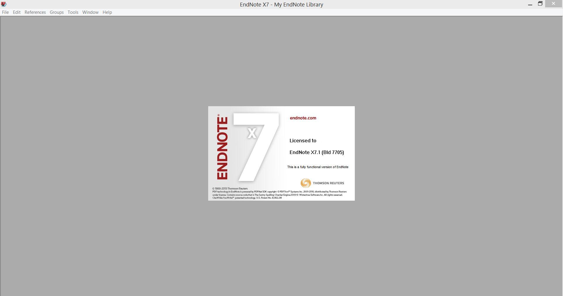 Endnote x7 free download
