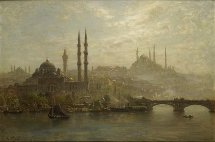 Ernst Koerner Ansicht von Istanbul.jpg