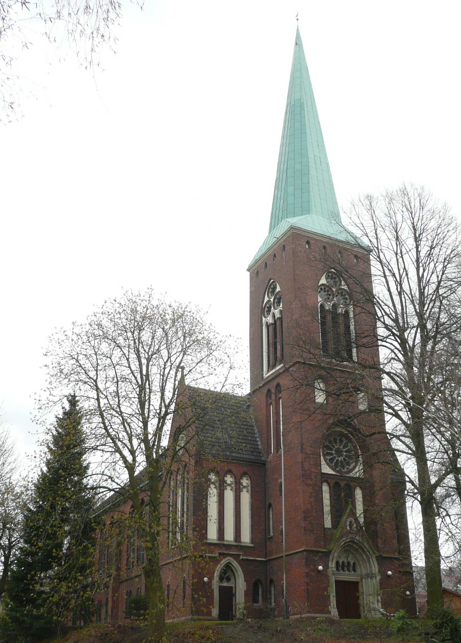 Datei:Ev. Kirche Bochum Werne.jpg - Wikipedia