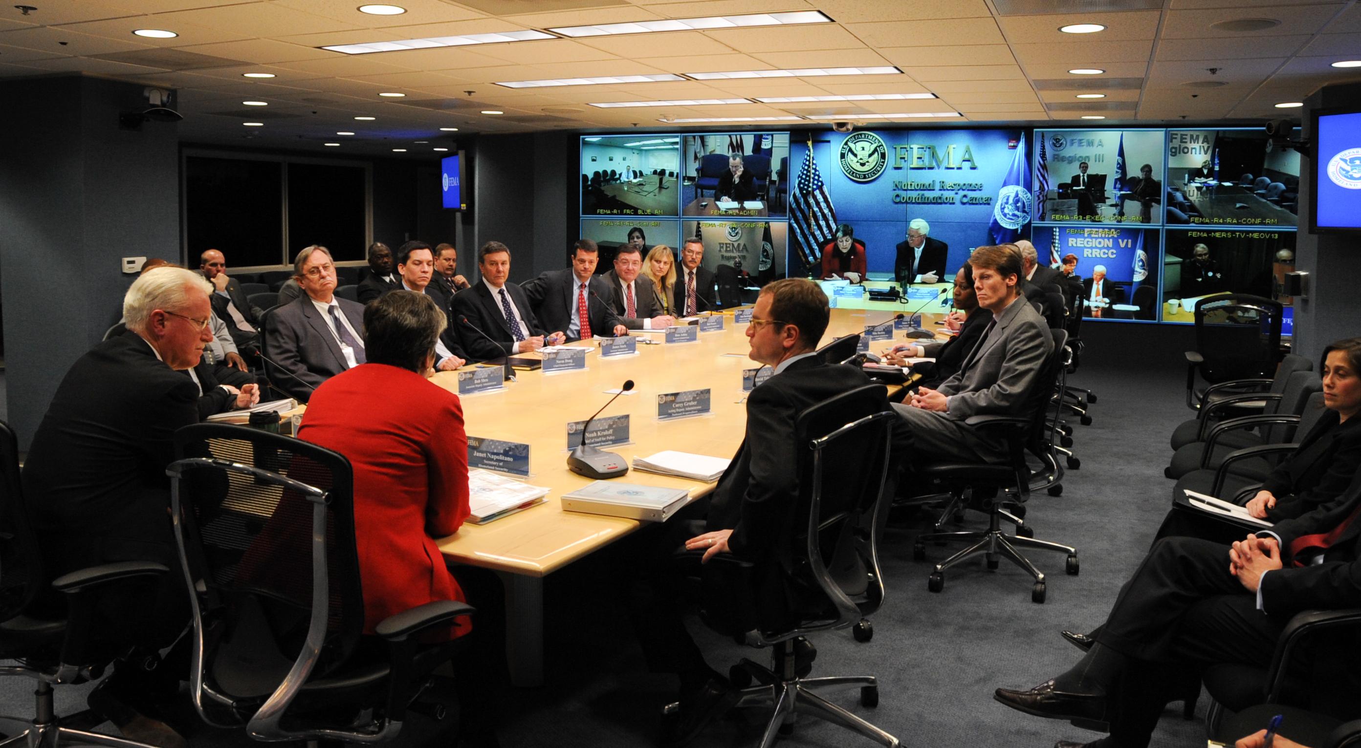 File:FEMA - 39882 - DHS Secretary Janet Napolitano visits FEMA ...