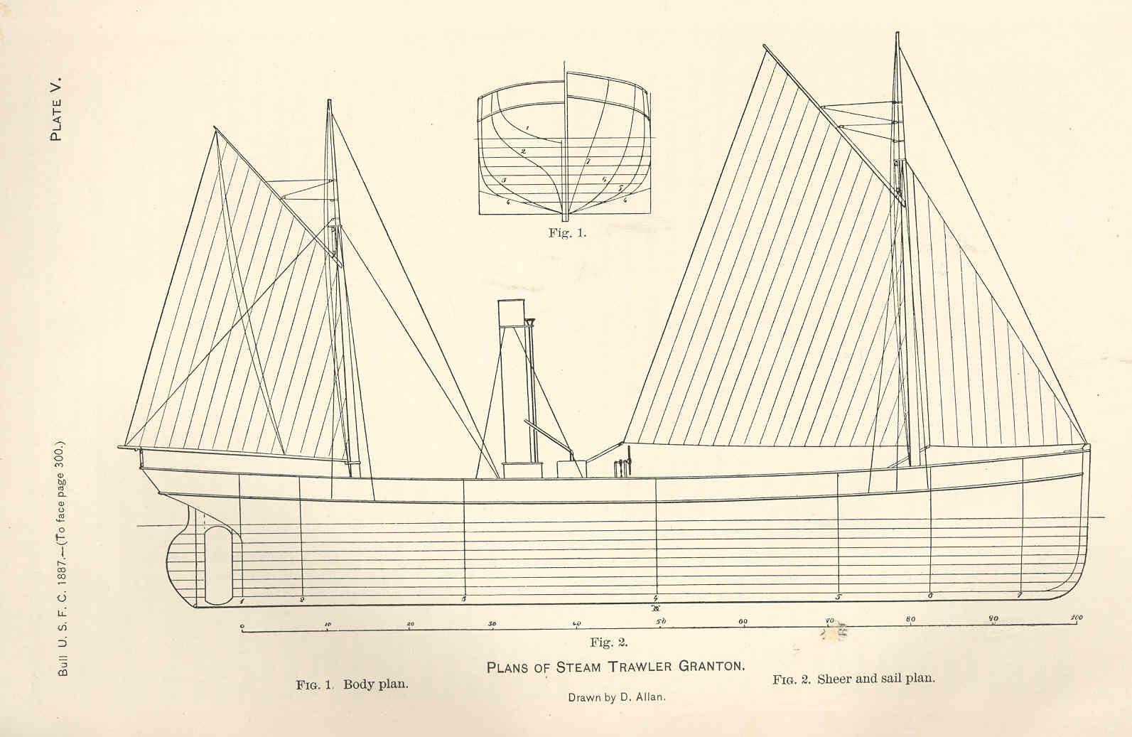 File:FMIB 37812 Plans of Steam Trawler Granton.jpeg - Wikimedia Commons
