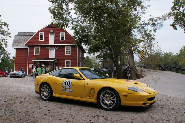 File:Ferrari in front of War Eagle Mill.jpg