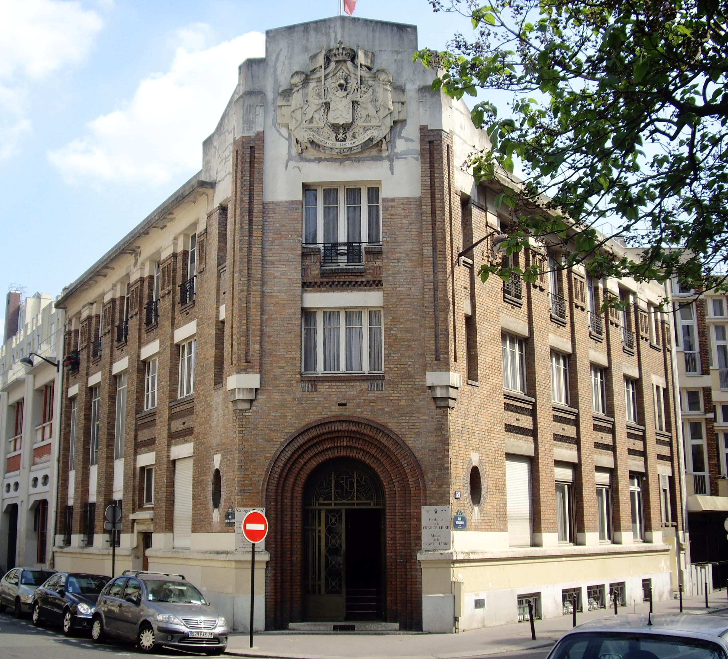 File fondation de la france libre paris for Paris libre