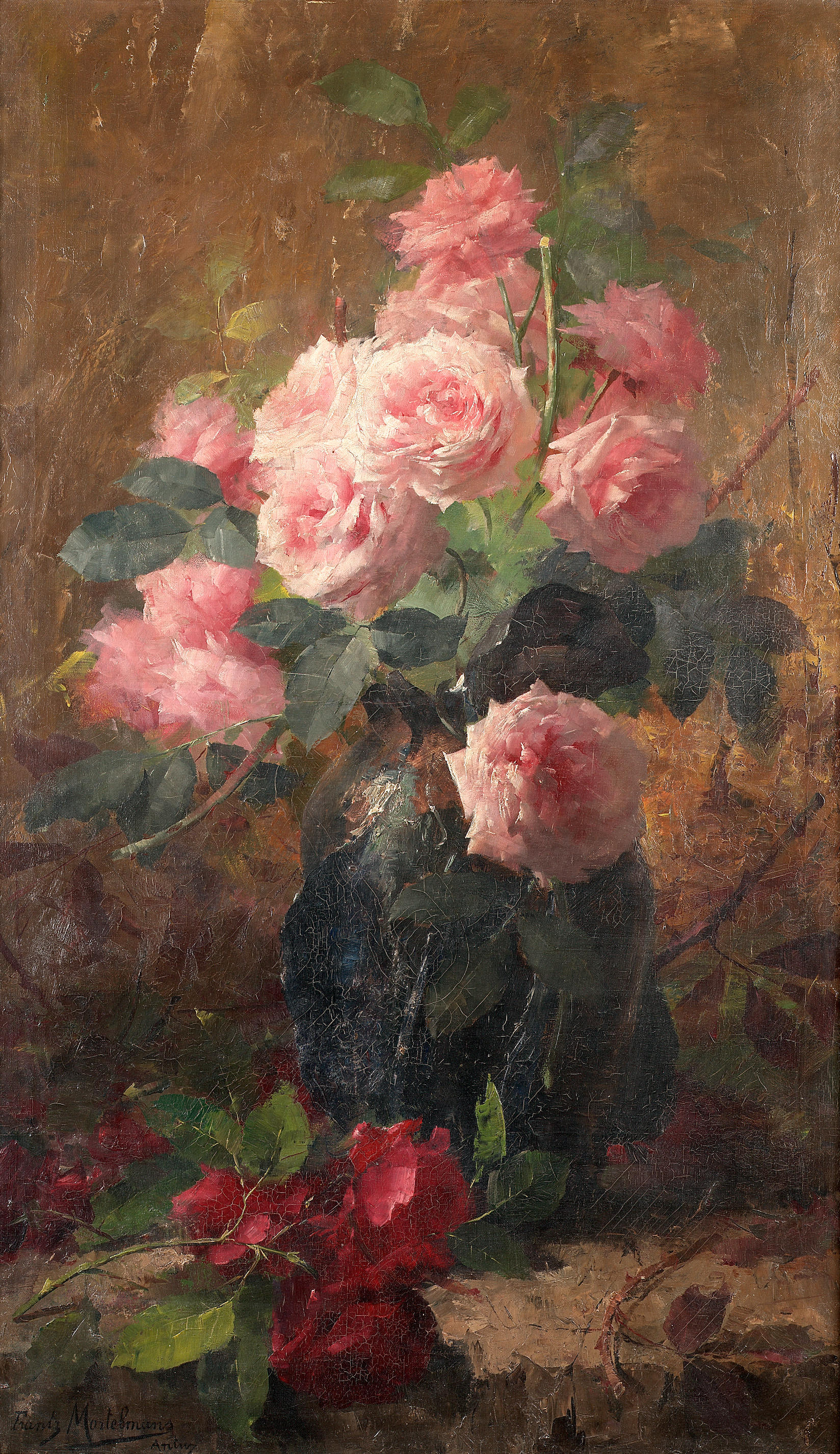 Beautiful Oil Paintings Of Roses