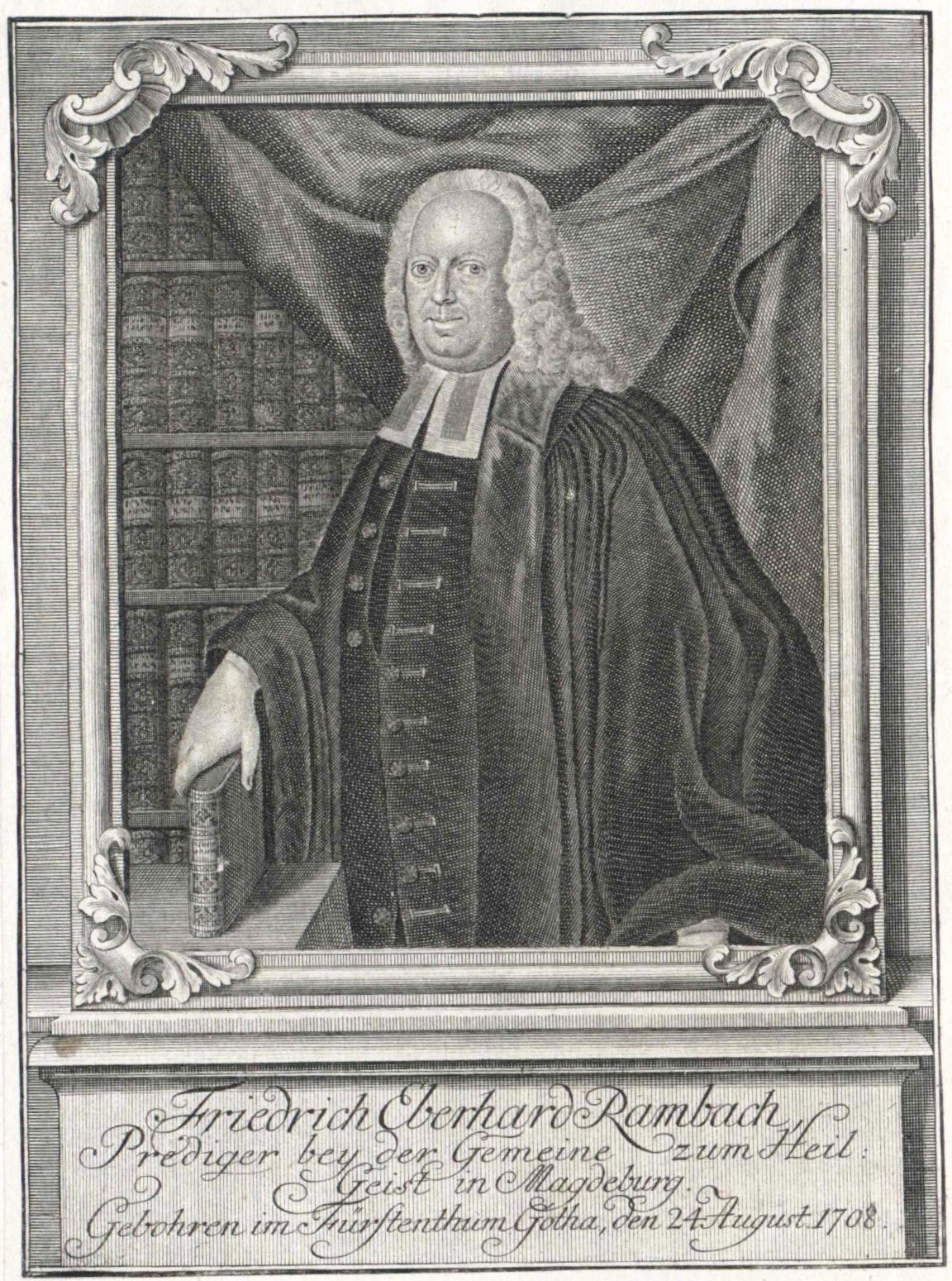 Friedrich Eberhard Rambach Theologe Wikipedia