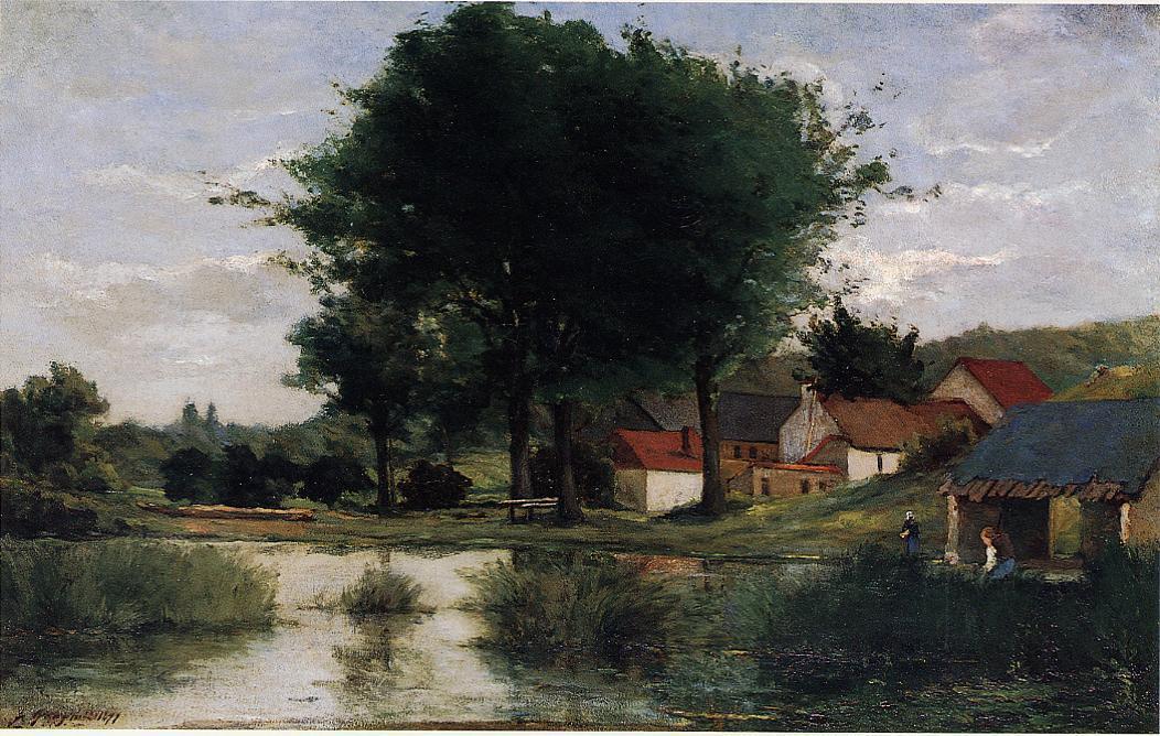 foto de File:Gauguin Paysage d'automne.jpg - Wikimedia Commons