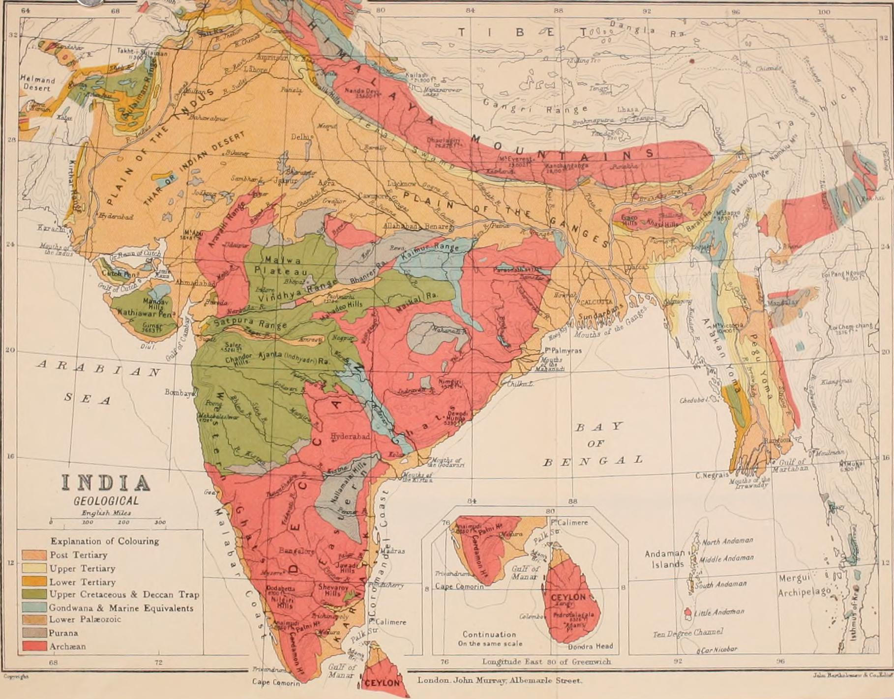Geological Map Of India चित्र:Geological map of India 1911.   विकिपीडिया Geological Map Of India