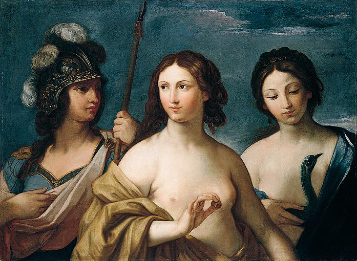 Giovanni Andrea Sirani - Minerva, Venus and Juno (The Judgement of Paris), 1638