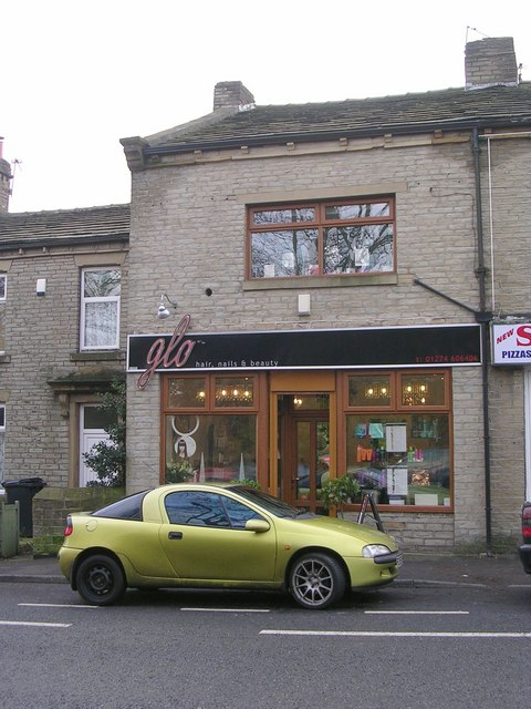 Glo hair and nails - Carr House Road - geograph.org.uk - 1617792.jpg