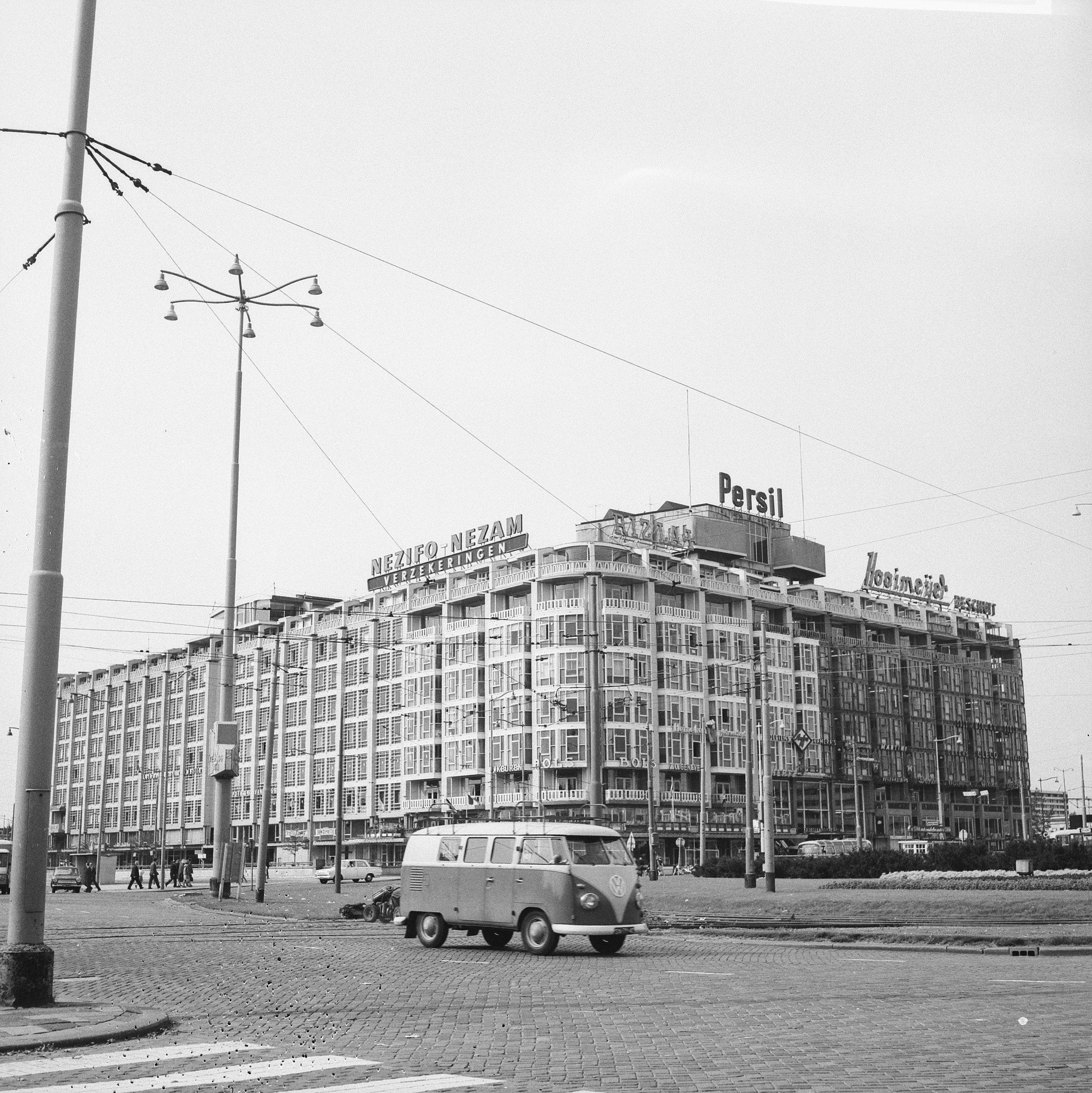 File:Groothandelsgebouw te Rotterdam in de verf, Bestanddeelnr 918-2331.jpg
