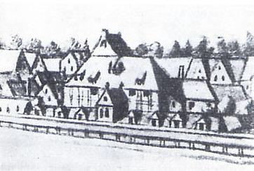 Oper am Gänsemarkt de Hamburgo en 1726.