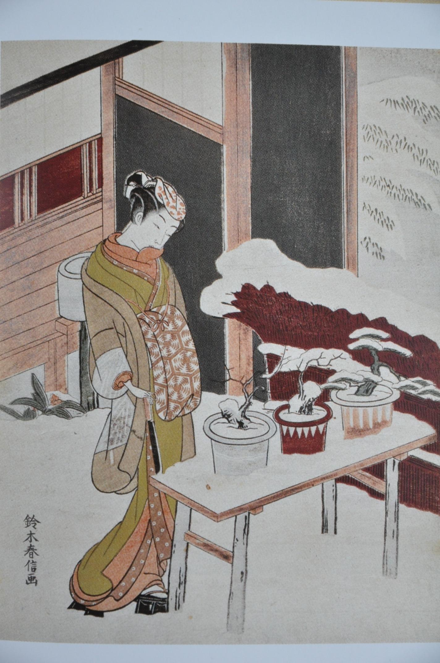 1000 images about artist suzuki harunobu on pinterest - Arbre en pot ...