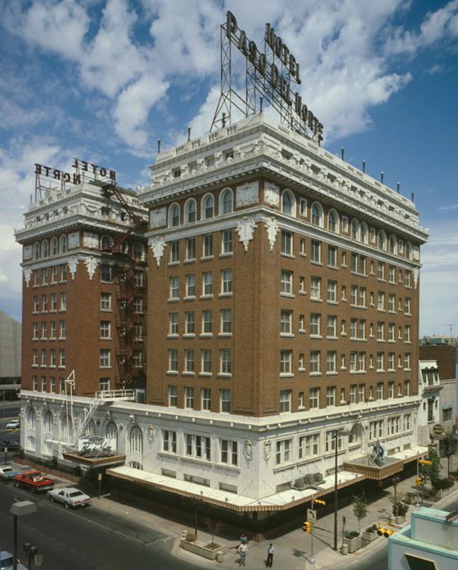 El Paso Del Norte Hotel