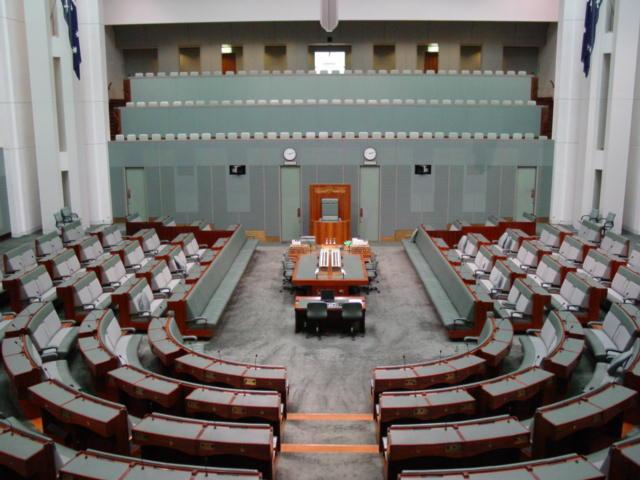 Die Australiese parlement se laerhuis