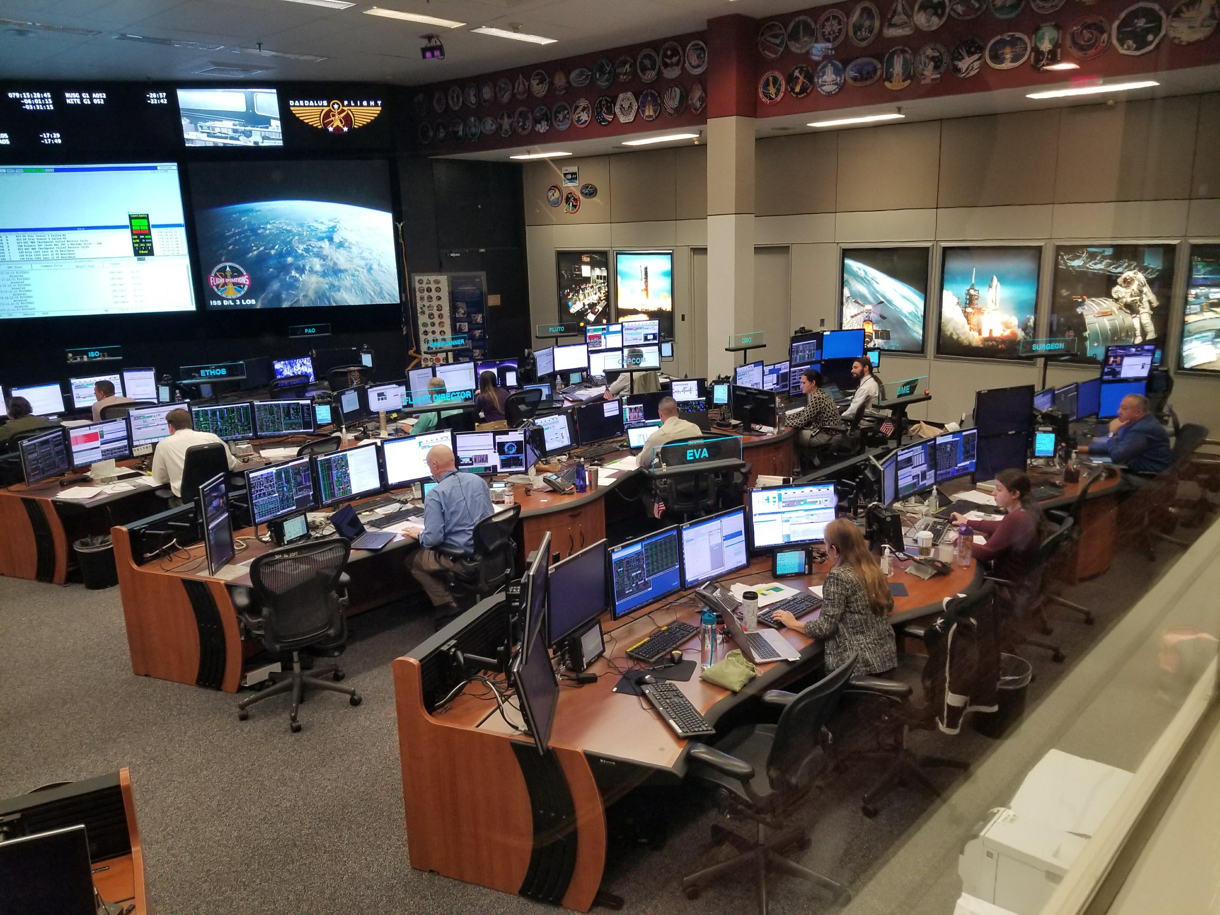 Apollo Mission Control Center in Houston, Texas | Historic