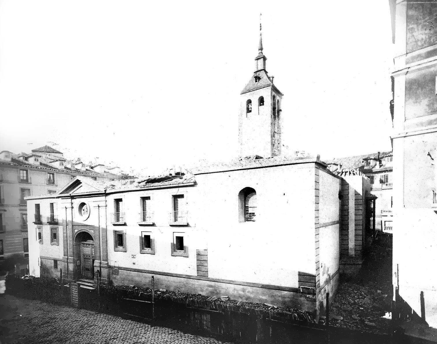 Iglesia De Santa María De La Almudena Wikipedia La Enciclopedia Libre