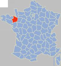 Communes of the Ille-et-Vilaine department Wikimedia list article