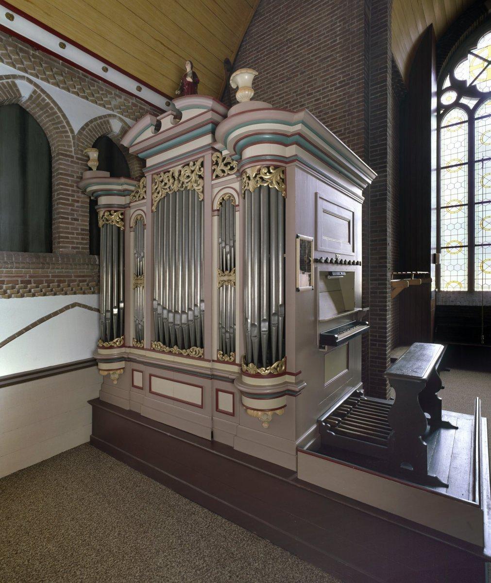 Afbeeldingsresultaat voor orgel victorkerk waddinxveen