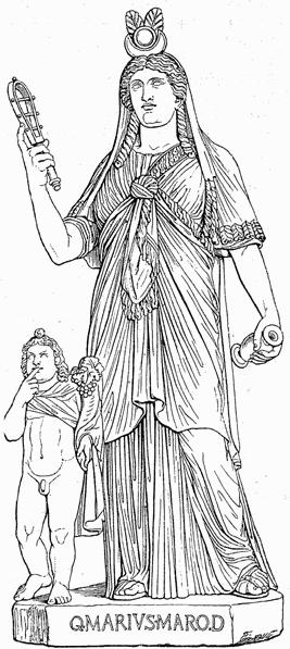 Esoterismo Jesuita - Ignacio de Loyola haciendo el Signo de Harpocrates el Horus Niño Isis_und_Horos2_MK_1888