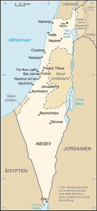 Nahost Karte.Geschichte Des Staates Israel Wikipedia