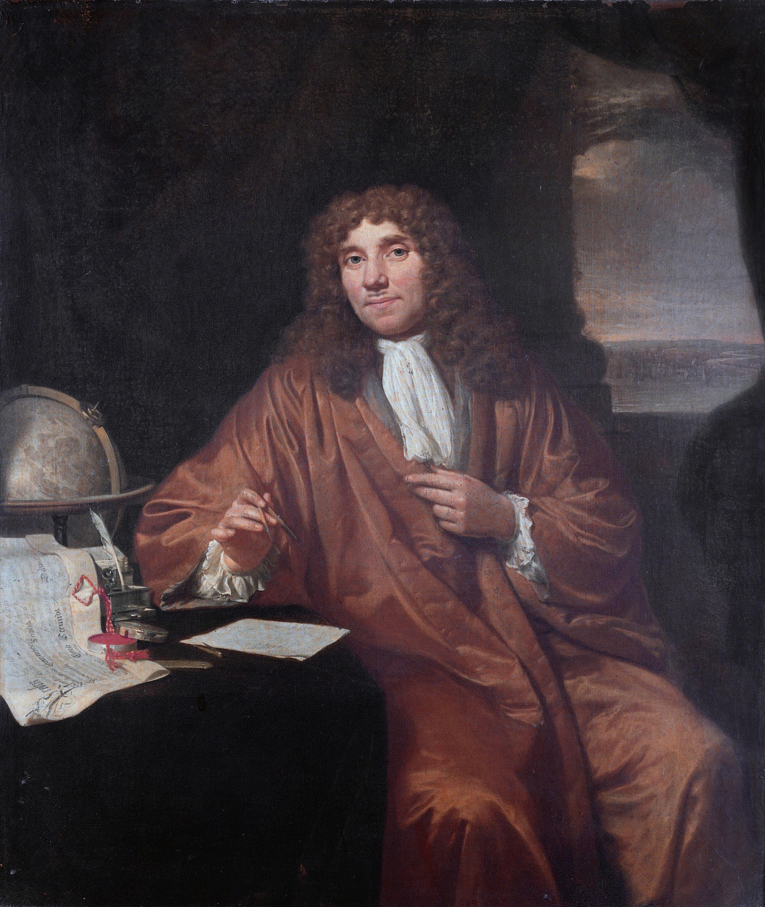 """L ottico e naturalista olandese Antoni van Leeuwenhoek Durante l """"et dell oro"""" fiorirono le scienze e le arti"""
