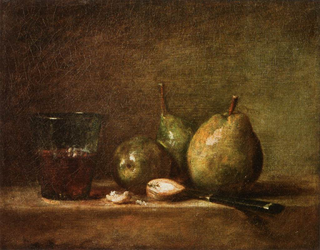 File jean sim on chardin pears walnuts and glass of for La photographie