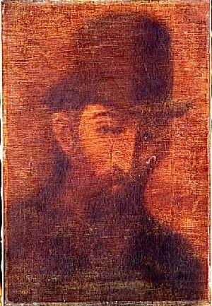 Portrait par Steinlen.